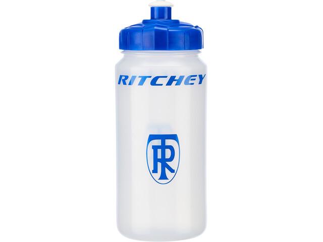 Ritchey Waterfles 500ml, transparent/blue